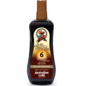 Australian Gold® SPF 6 Spray Gel + Bronzer